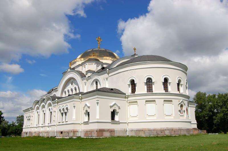 Chiesa ortodossa bianca fotografie stock
