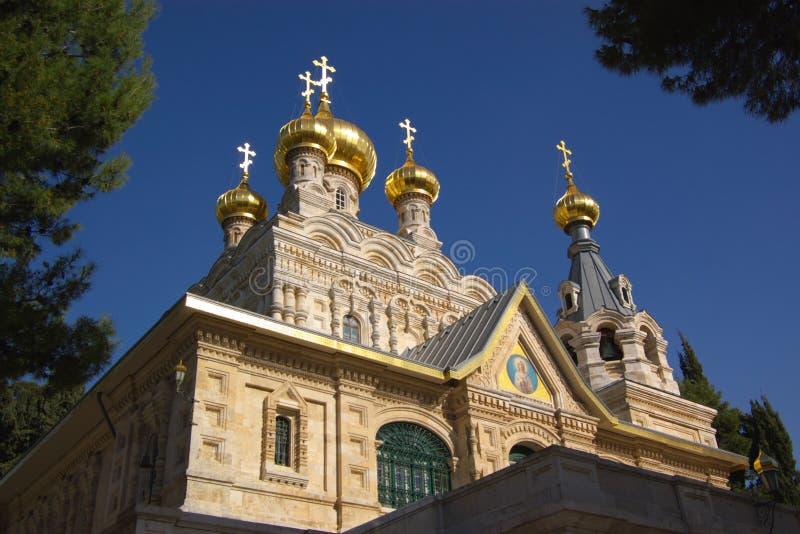 Chiesa ortodossa a Gerusalemme fotografie stock