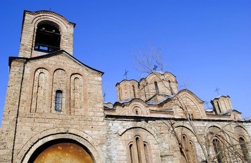 Chiesa ortodossa in Prizren, il Kosovo fotografie stock