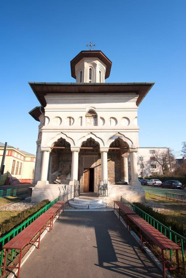 Chiesa ortodossa rumena fotografia stock