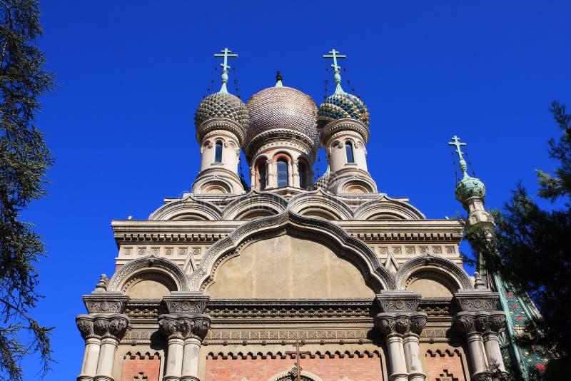 Chiesa ortodossa, San Remo fotografia stock