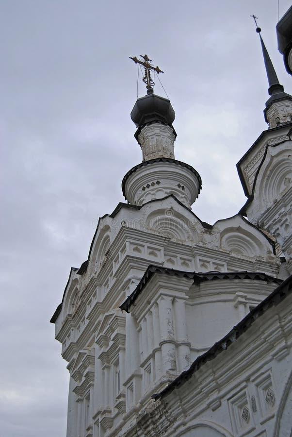 Chiesa ortodossa in Veliky Ustyug immagine stock libera da diritti