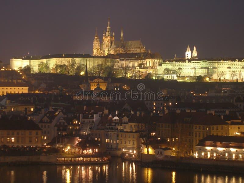 Chiesa a Praga fotografie stock libere da diritti