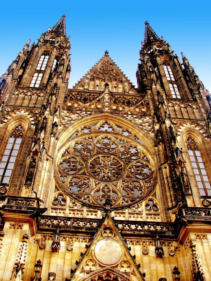 Chiesa a Praga immagine stock libera da diritti