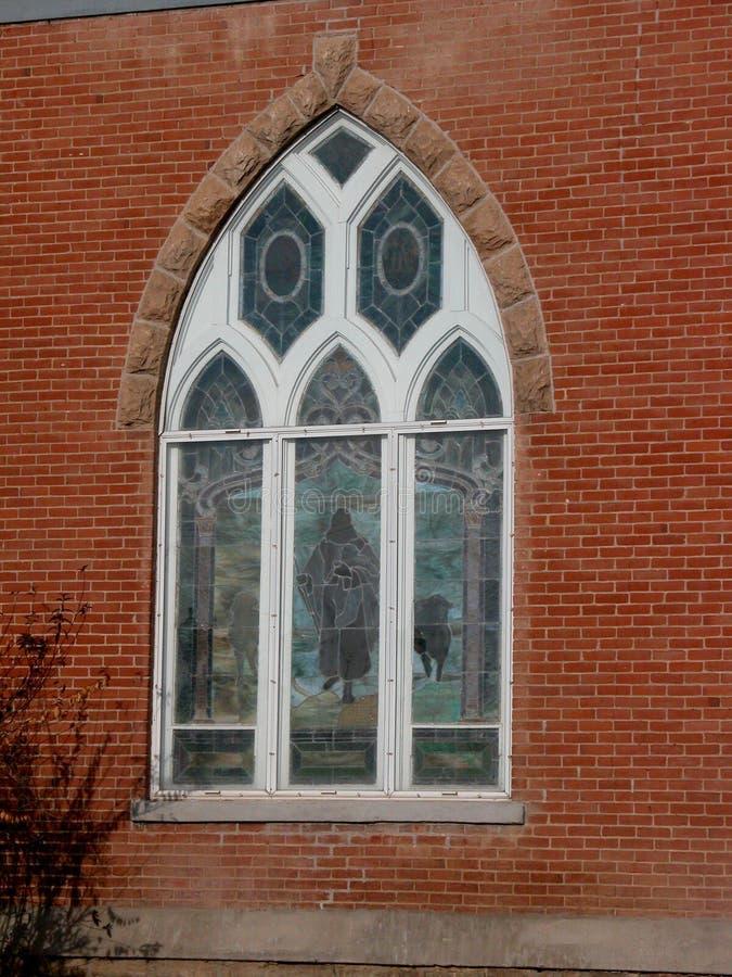 Chiesa presbiteriana del punto di riferimento fotografia stock libera da diritti