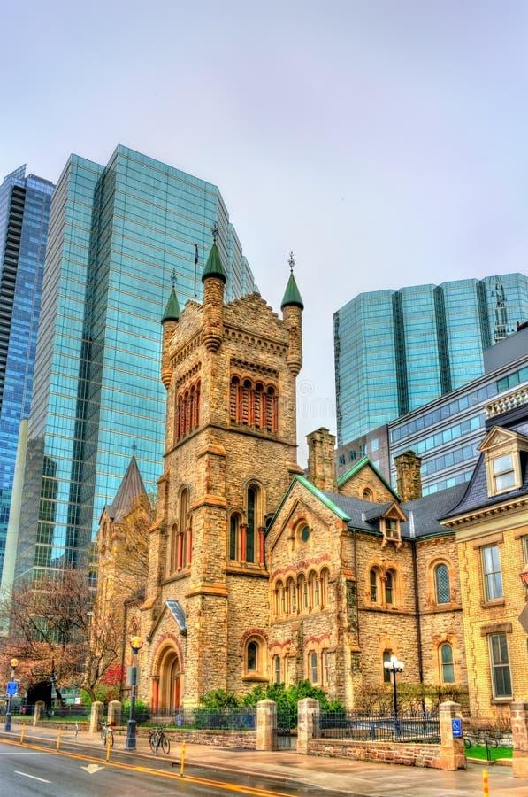 Chiesa presbiteriana del ` s di St Andrew a Toronto, Canada immagini stock libere da diritti