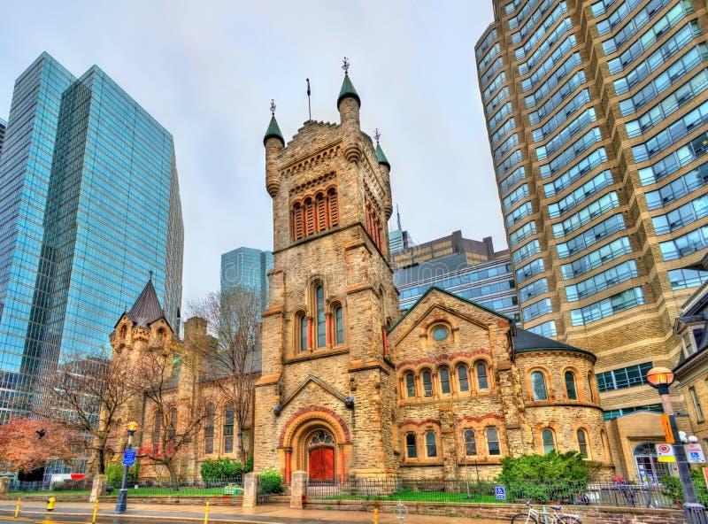 Chiesa presbiteriana del ` s di St Andrew a Toronto, Canada fotografie stock