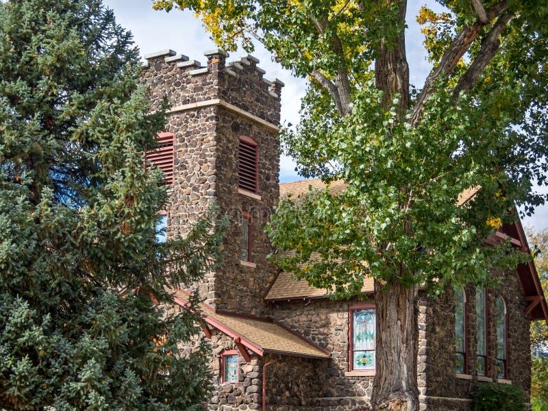 Chiesa presbiteriana storica di Eckert immagine stock