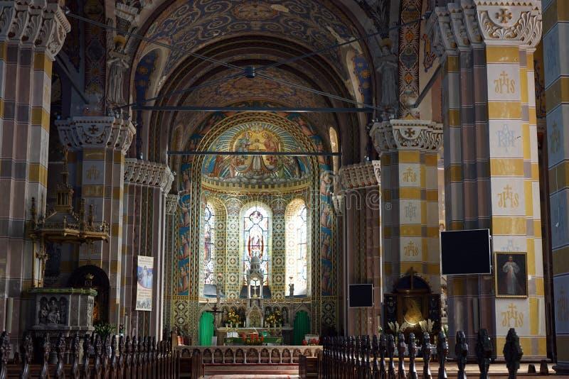 Chiesa pw Zwiastowania immagine stock