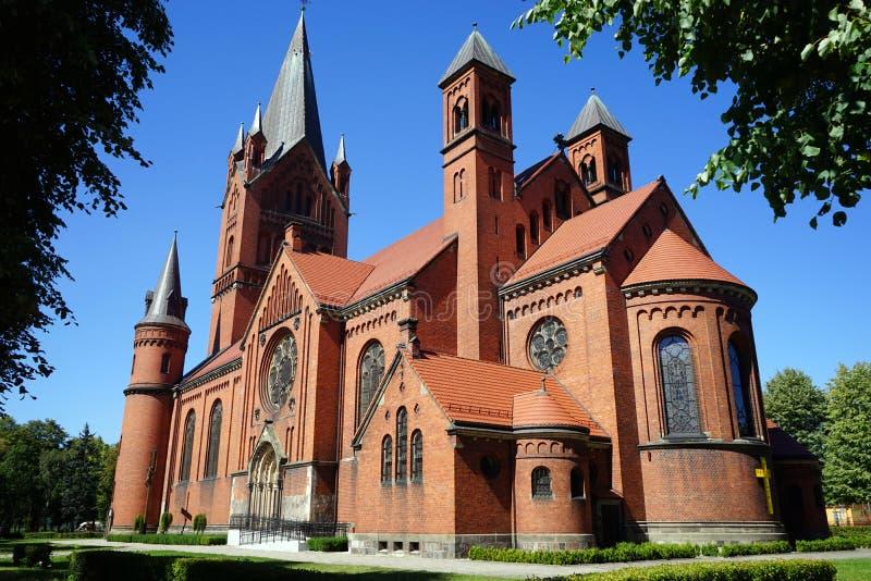 Chiesa pw Zwiastowania fotografie stock libere da diritti
