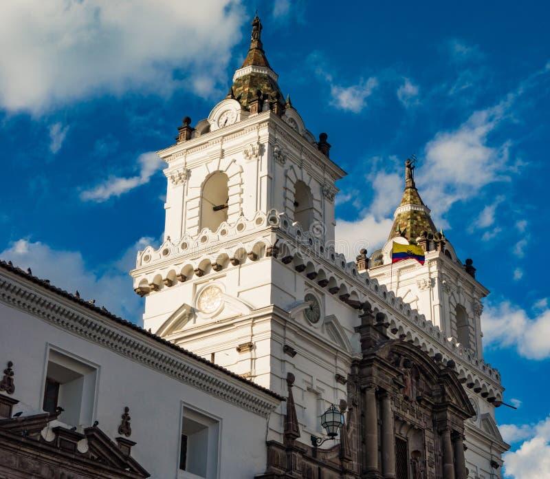 Chiesa Quito, Ecuador di San Francisco immagini stock