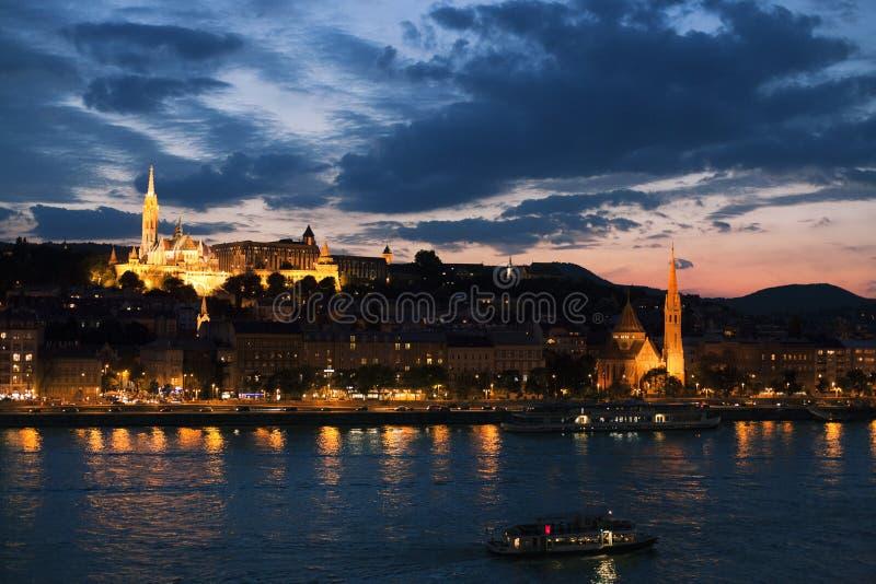Chiesa riformata a Budapest fotografie stock libere da diritti
