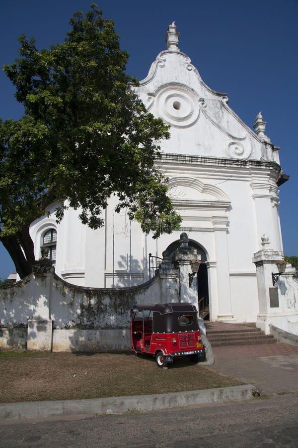 Chiesa riformata olandese, Galle fotografia stock libera da diritti