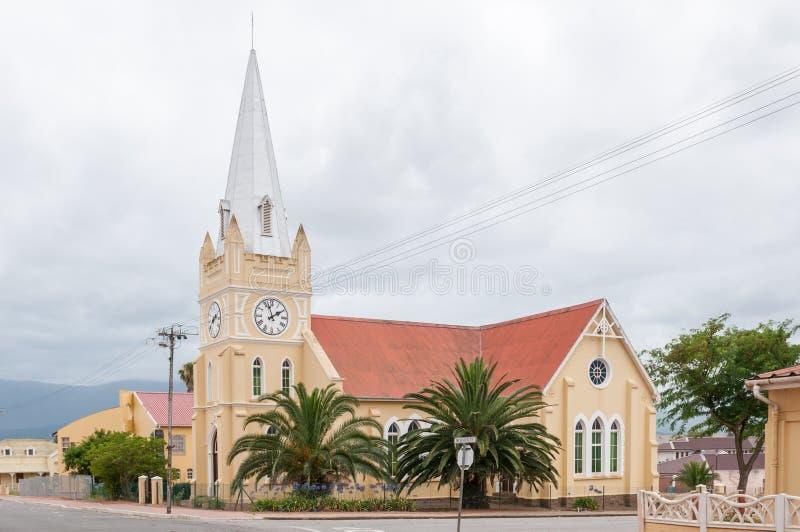 Chiesa, Riversdale, Sudafrica immagine stock libera da diritti