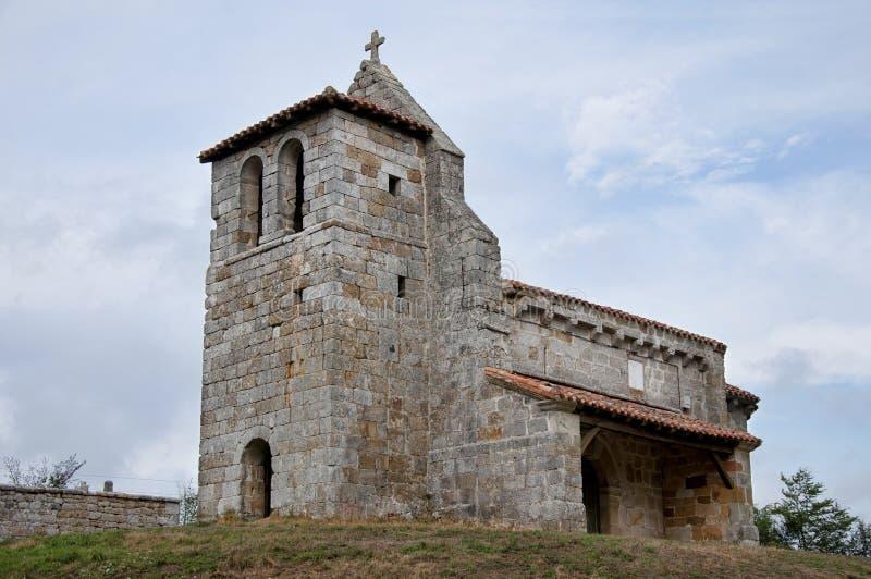 Chiesa romanica fotografie stock libere da diritti