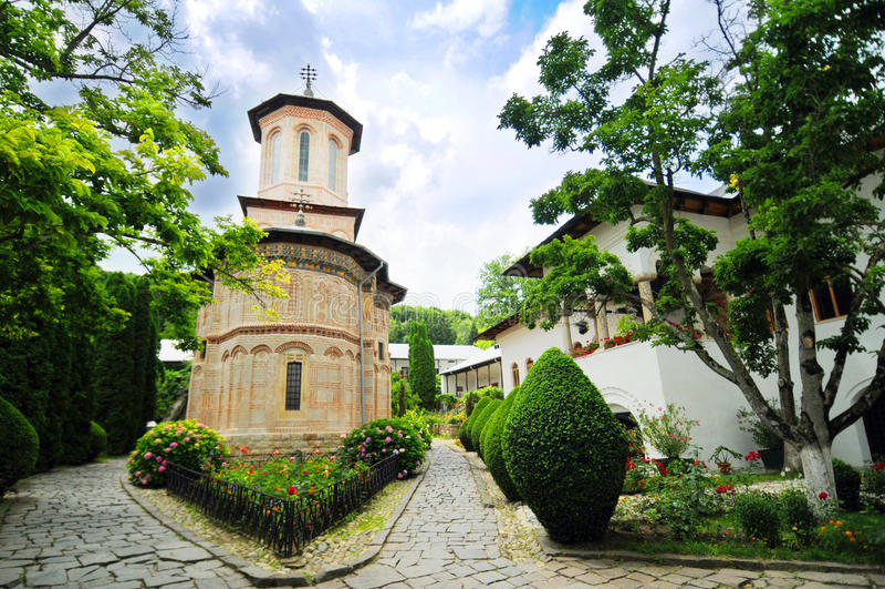 Chiesa rumena immagini stock libere da diritti