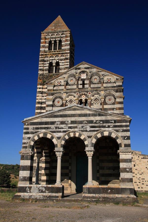 Chiesa rurale in Sardegna fotografie stock