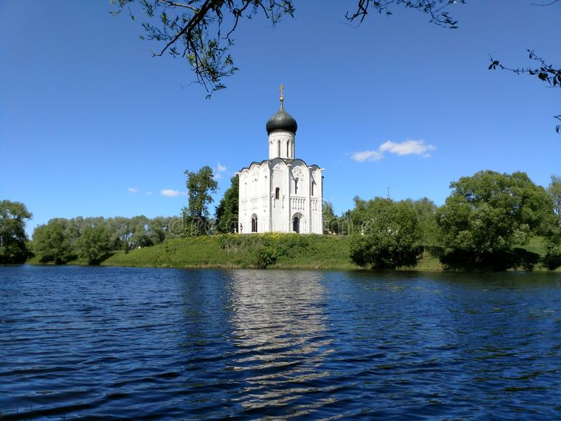 Chiesa russa fotografia stock libera da diritti
