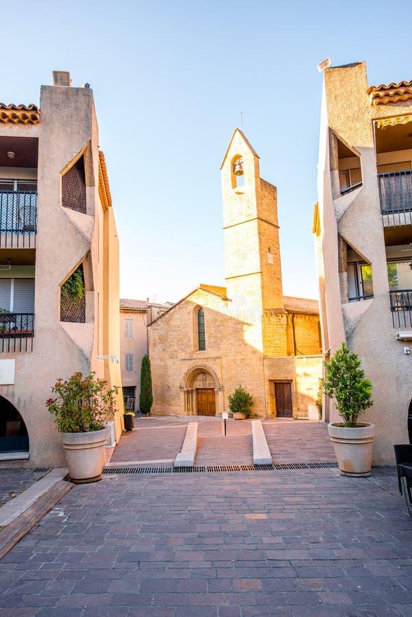 Chiesa in Salon de Provence immagini stock