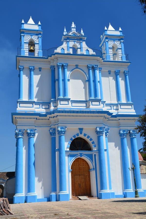 Chiesa San Cristobal de Las Casas il Chiapas Messico immagine stock