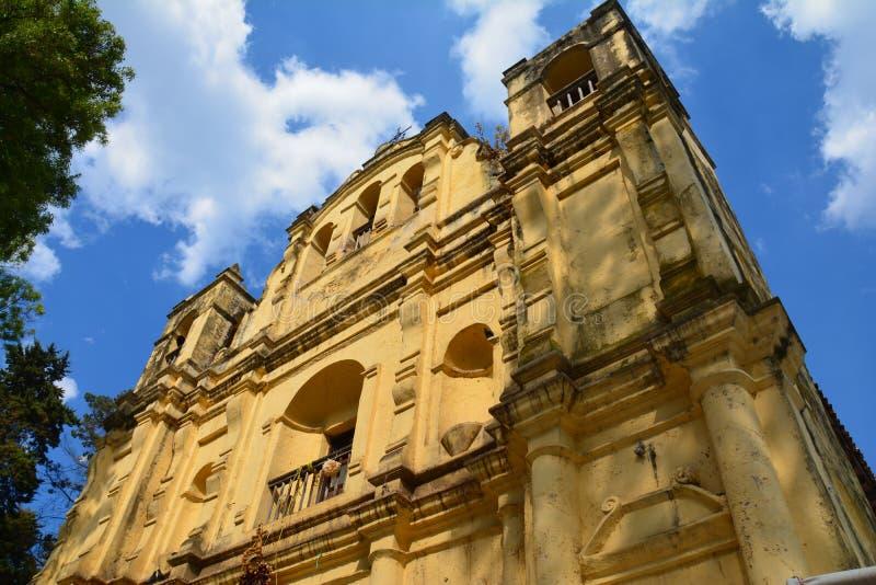 Chiesa San Cristobal de Las Casas il Chiapas Messico fotografie stock libere da diritti
