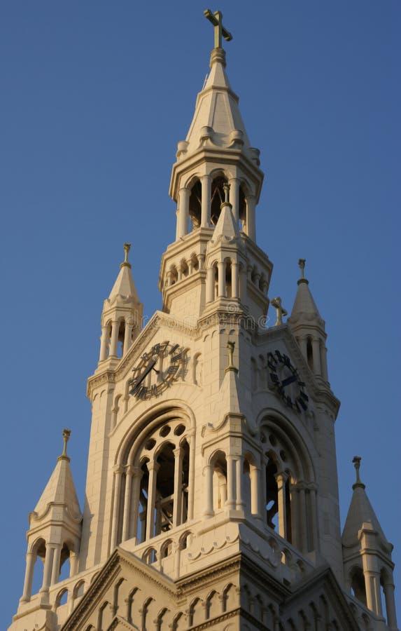 Chiesa San Francisco del Paul e del Peter santo fotografie stock