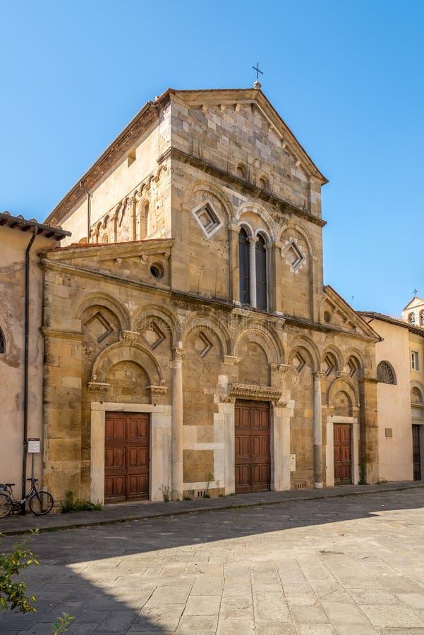 Chiesa San Frediano a Pisa immagini stock libere da diritti