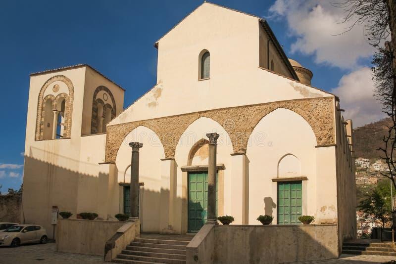 Chiesa San Giovanni del Toro 拉韦洛 坎帕尼亚 意大利 免版税库存照片