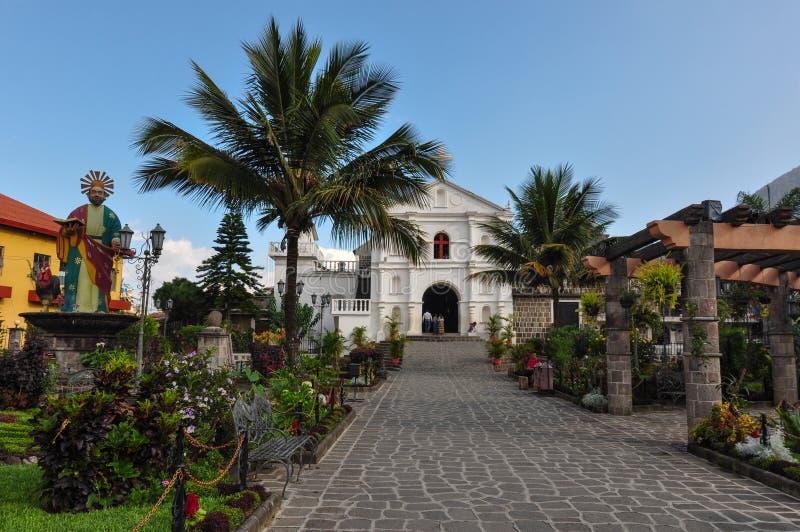 Chiesa in San Pedro la Laguna, Guatemala fotografia stock libera da diritti
