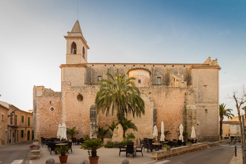 Chiesa Sant Andreu immagine stock