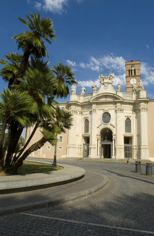 Chiesa Santa Croce in Gerusalemme fotografia stock