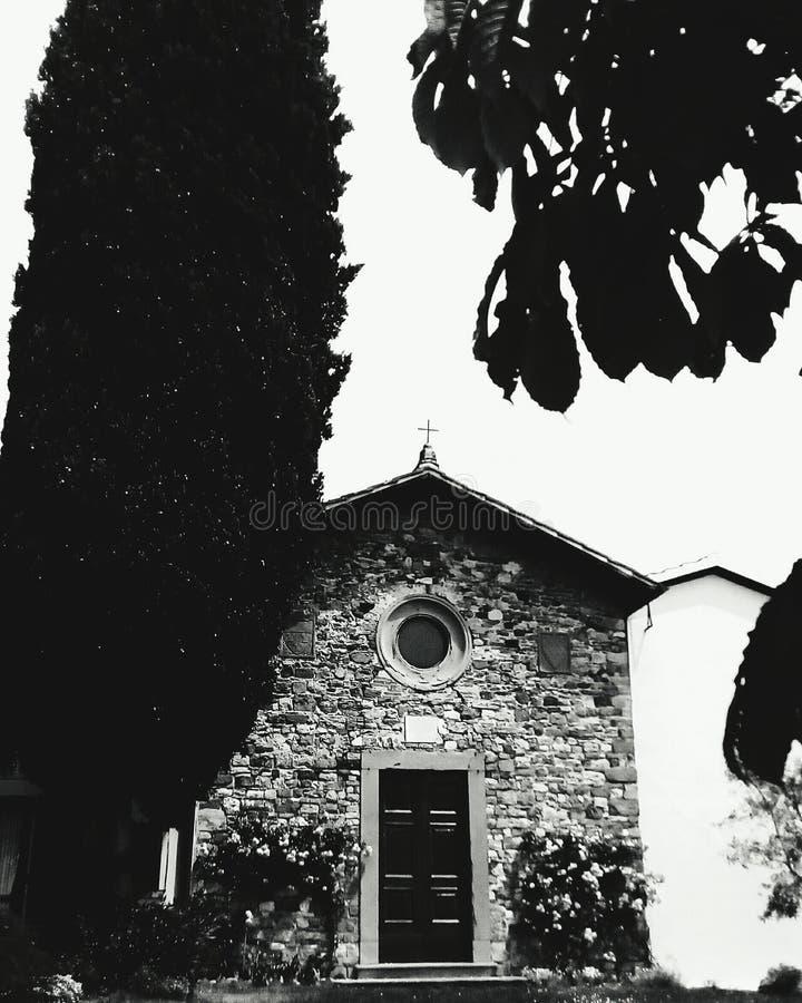 Chiesa Santa San Rocco in Signa Firenze fotografia stock libera da diritti