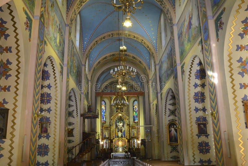 Chiesa santa in Zakopane, Polonia della famiglia fotografia stock libera da diritti