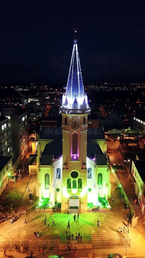 Chiesa Santana della matrice immagine stock