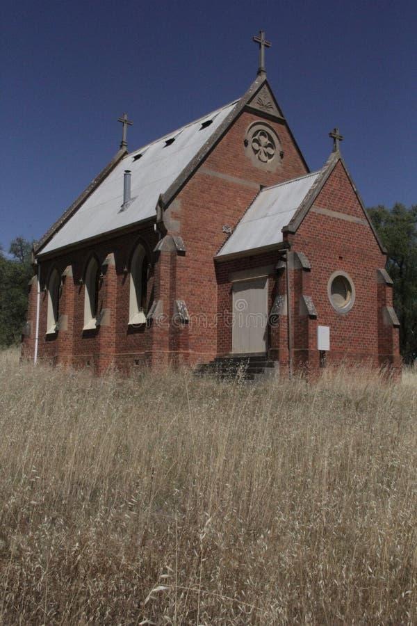 Chiesa storica - Victoria centrale, Australia fotografia stock
