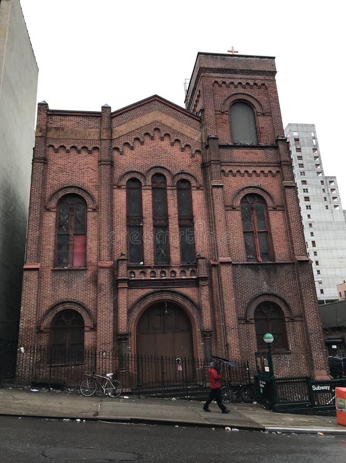 Chiesa su Lexington immagine stock
