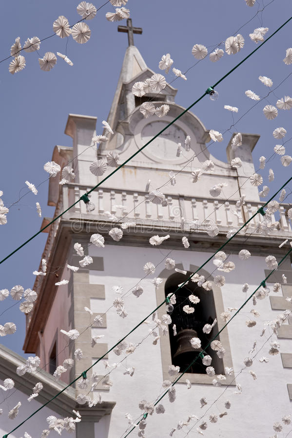 Chiesa sulla Madera fotografie stock