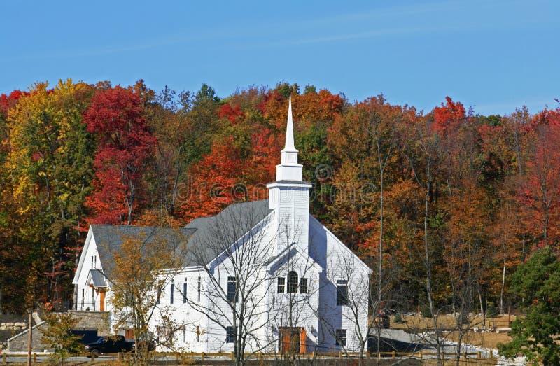 Chiesa a upstate New York immagini stock libere da diritti