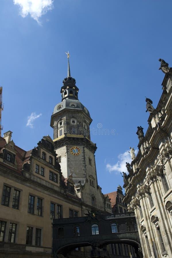 Download Chiesa vecchia a Dresda immagine stock. Immagine di cupola - 350385