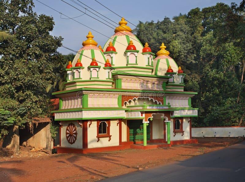 Chiesa vicino al Ponda goa L'India fotografie stock