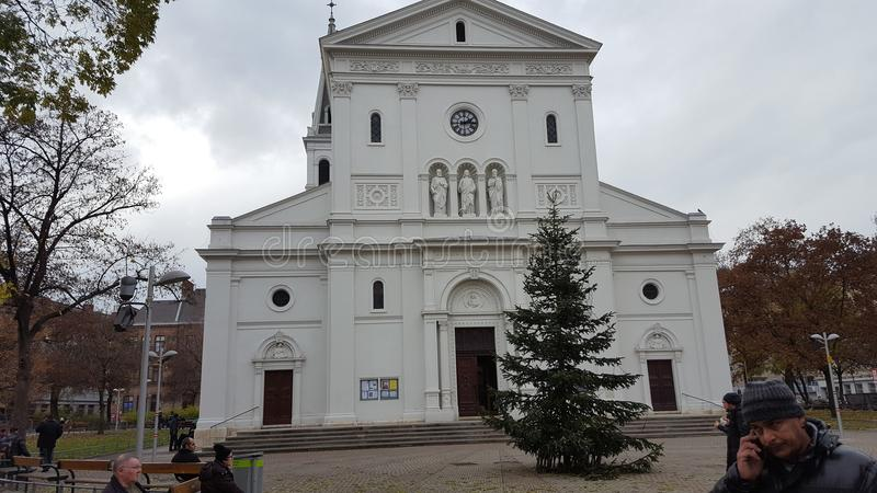 Chiesa a Vienna fotografie stock
