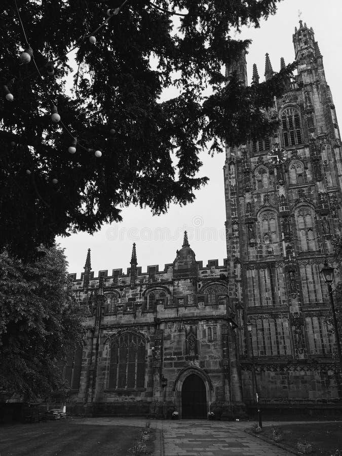 Chiesa in Wrexham fotografia stock