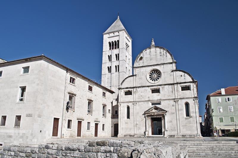 Chiesa in Zadar, Croatia della st Mary fotografia stock