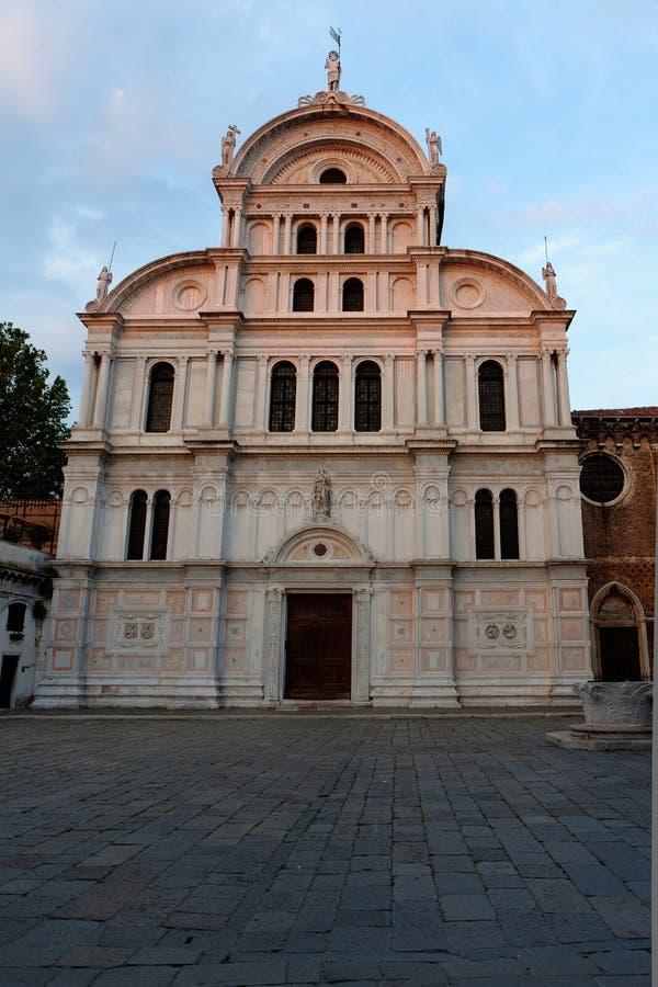 Chiesasan Zaccaria kerk, Venetië, Venezia, Italië, Italië royalty-vrije stock fotografie