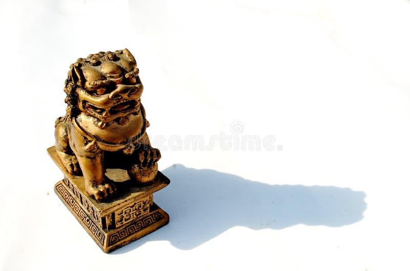 Chiese监护人狮子 免版税库存照片