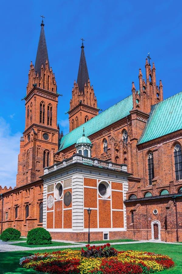 Chiese della Polonia - Wloclawek immagini stock libere da diritti