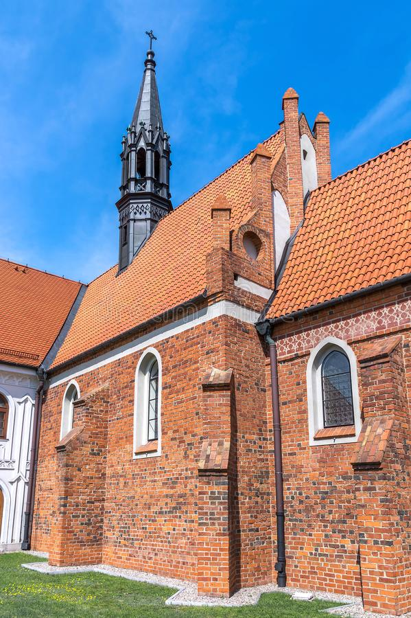 Chiese della Polonia - Wloclawek fotografia stock