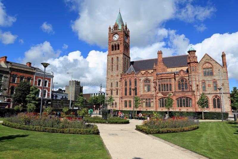 Chiese di Derry in Irlanda del Nord fotografie stock
