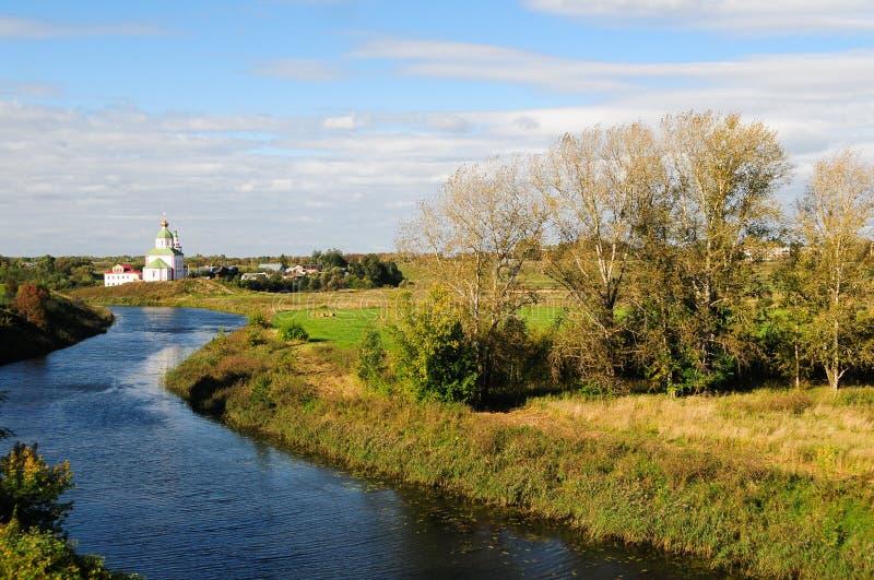 Chiese tradizionali russe a Suzdal immagine stock libera da diritti