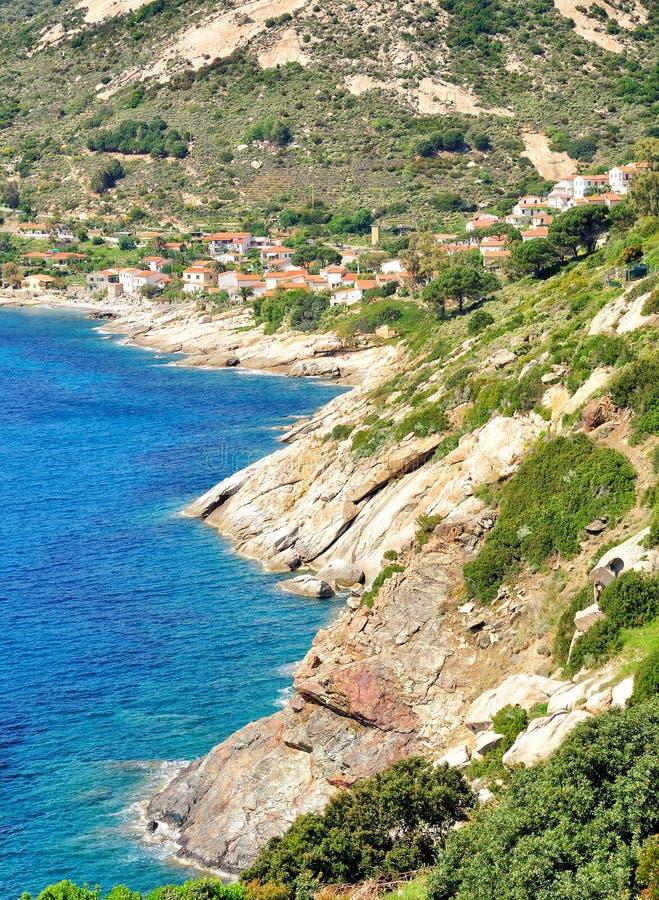 Chiessi, Insel Elba, Italien stockbild